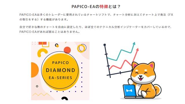 PAPICO(パピコ)・サービス概要、特徴